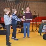 Gerard Versteeg neemt afscheid als bestuurslid en wordt bedankt voor zijn inzet en benoemd tot lid van verdienste van onze vereniging